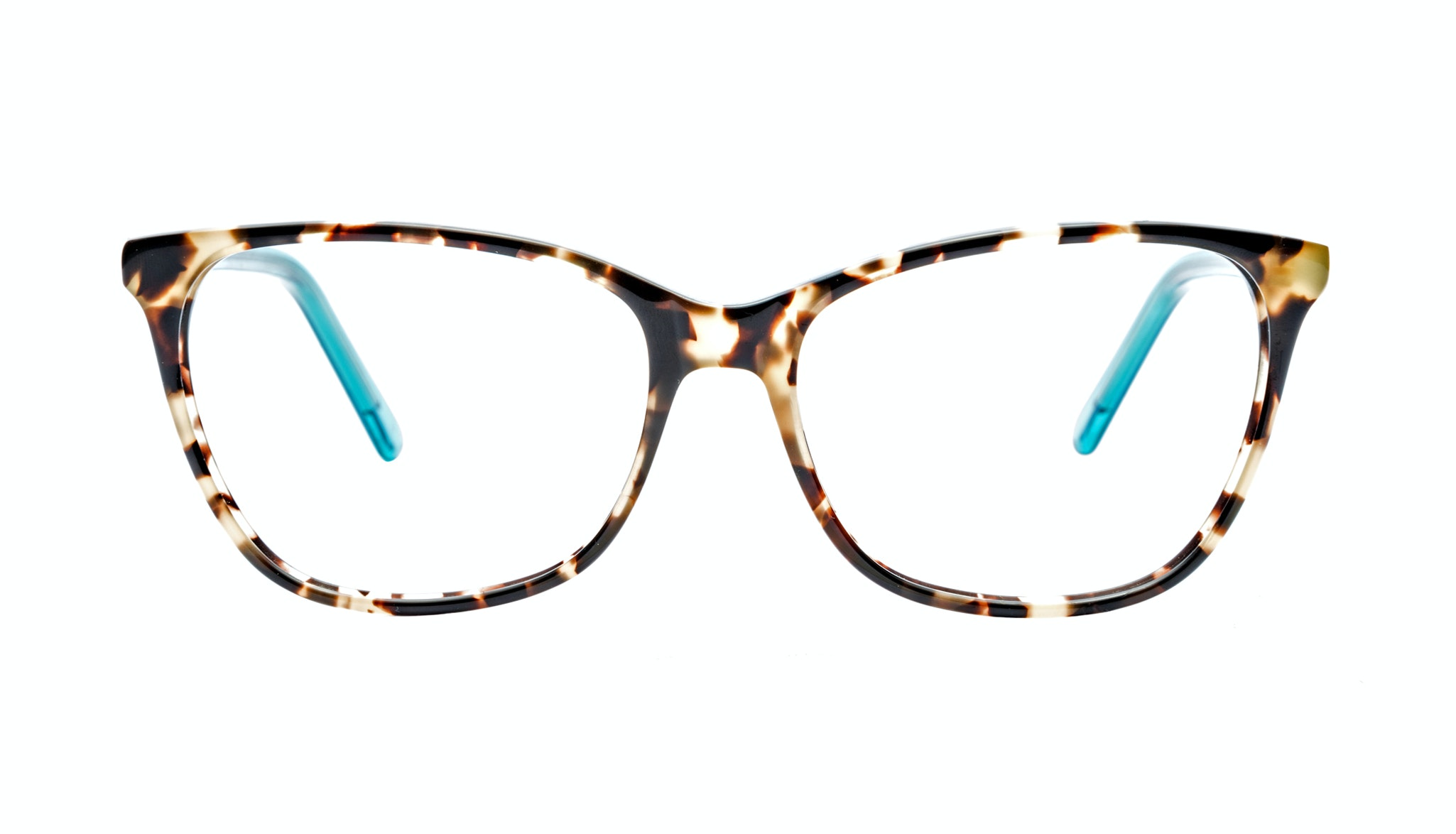 Affordable Fashion Glasses Cat Eye Eyeglasses Women Flair Teal Tort