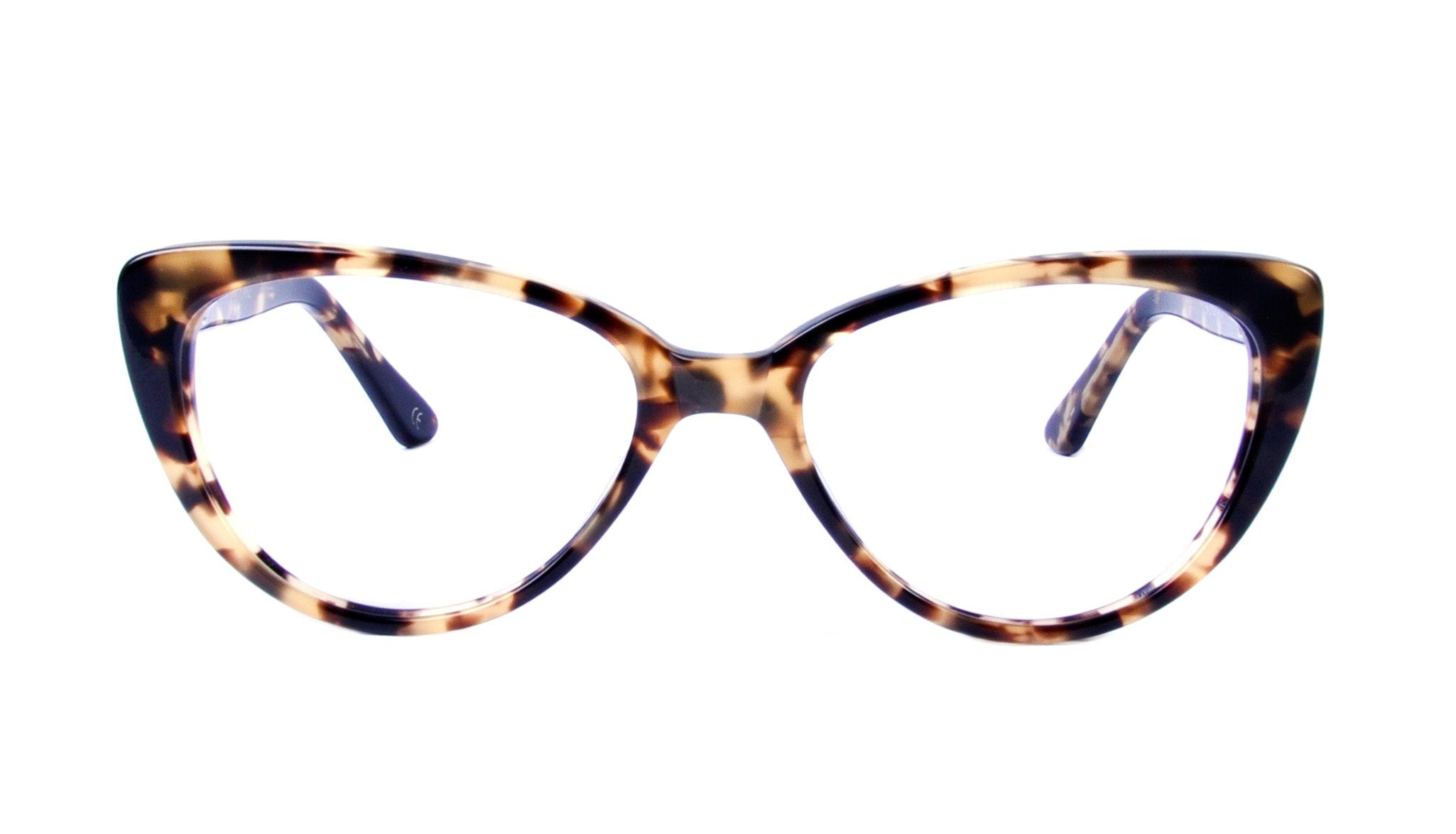 Affordable Fashion Glasses Round Eyeglasses Women Coco Dark Tortoise Front