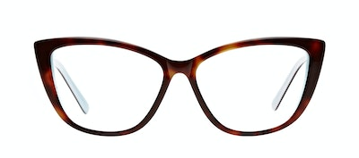 Affordable Fashion Glasses Cat Eye Daring Cateye Eyeglasses Women Dolled Up Dreamy Tortoise Front