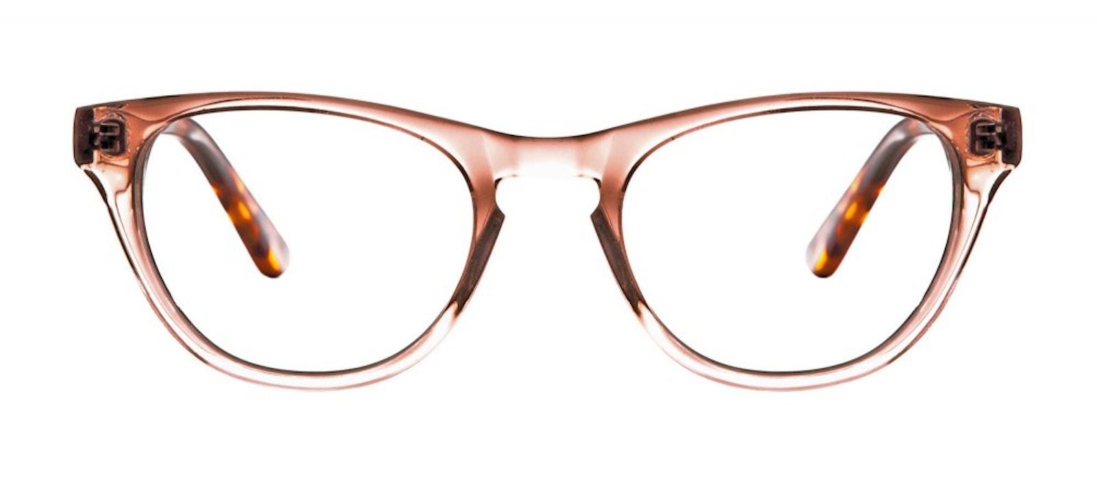 51e83027c800 Affordable Fashion Glasses Cat Eye Eyeglasses Women Selfie Rose Sepia Front  ...
