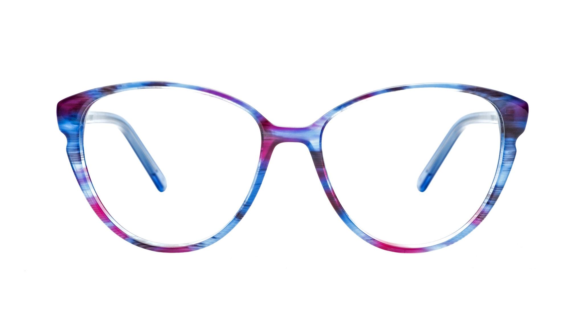 Affordable Fashion Glasses Cat Eye Eyeglasses Women Expose Blue Velvet