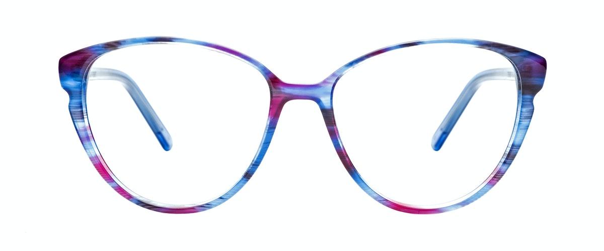 Blue Glasses Frames Ladies : Womens Eyeglasses - Expose in Blue Velvet BonLook