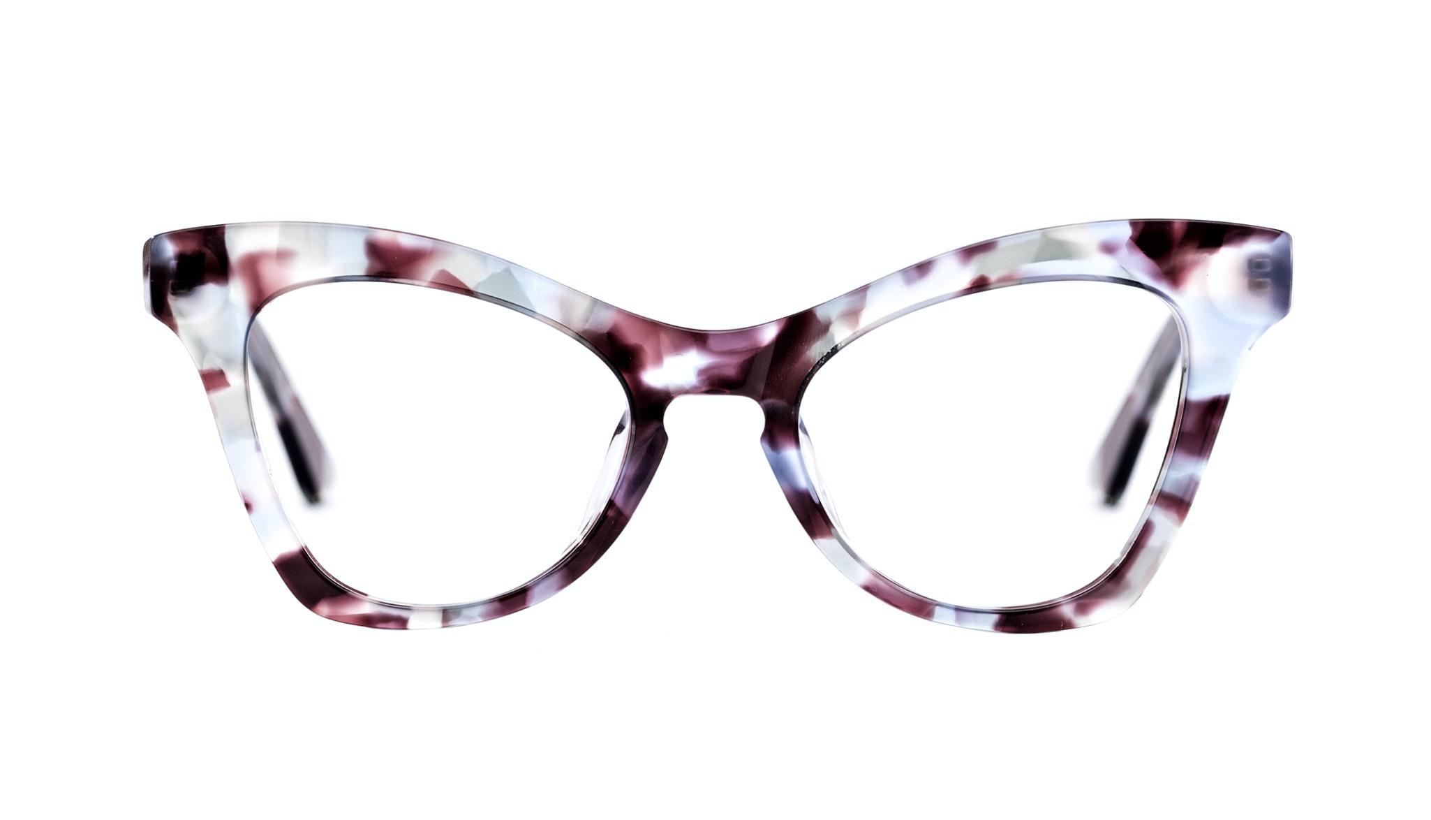 Affordable Fashion Glasses Cat Eye Eyeglasses Women Divine Lilac Tort