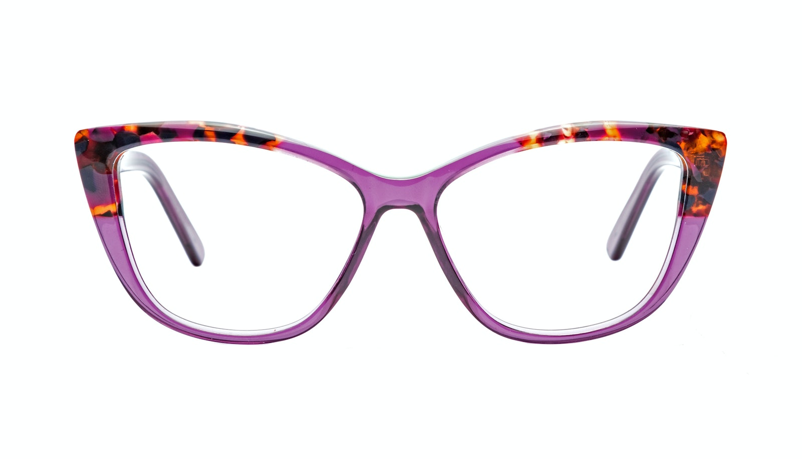 Affordable Fashion Glasses Cat Eye Daring Cateye Eyeglasses Women Dolled Up Pretty Purple