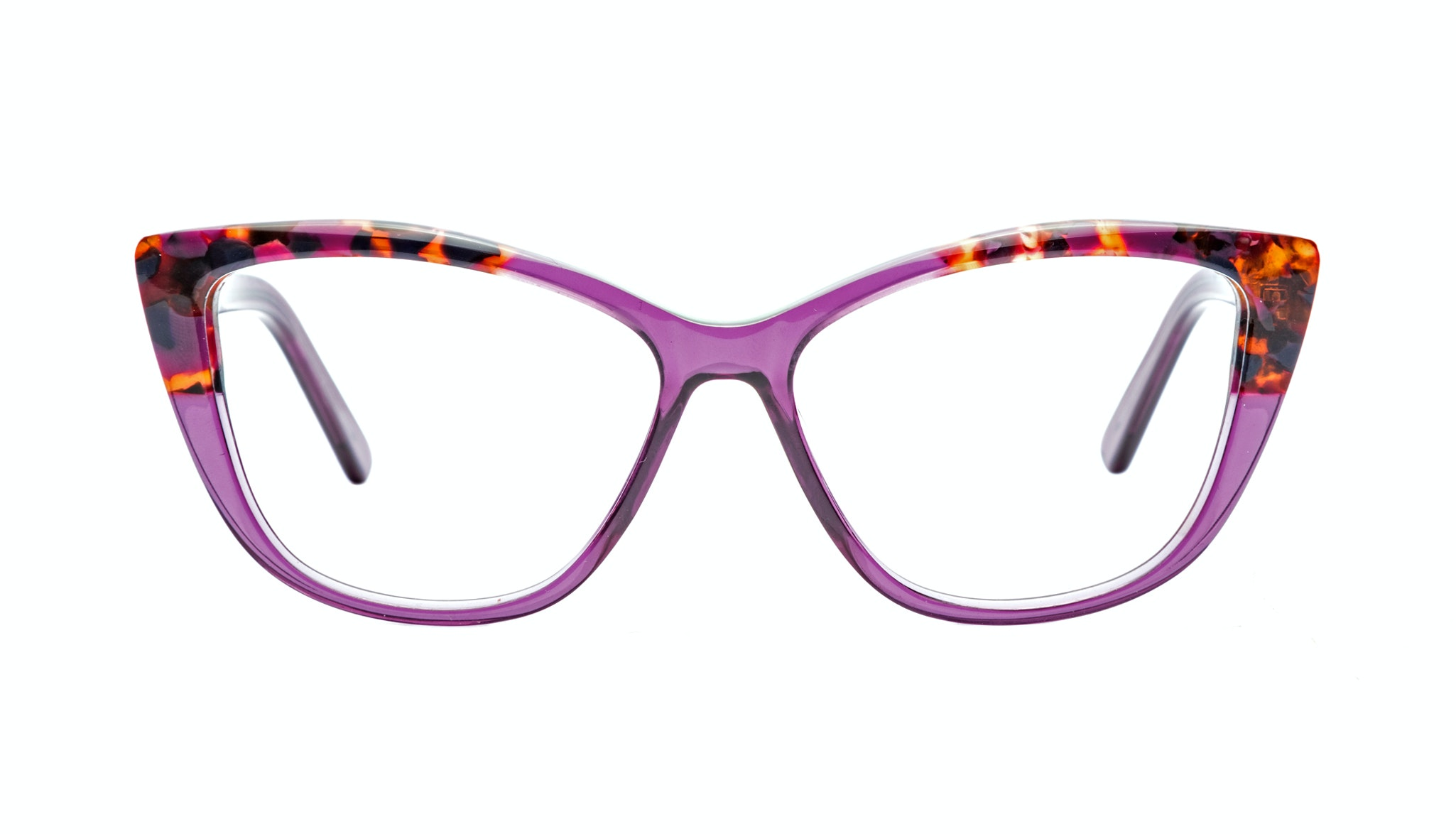 Affordable Fashion Glasses Cat Eye Eyeglasses Women Dolled Up Pretty Purple
