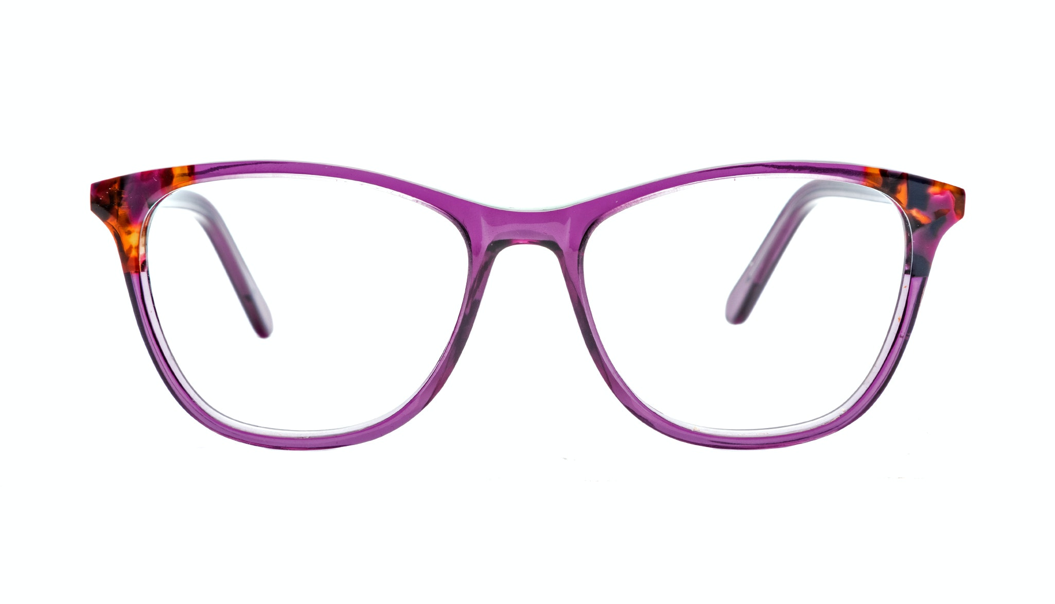 Affordable Fashion Glasses Cat Eye Eyeglasses Women Folk Pretty Purple