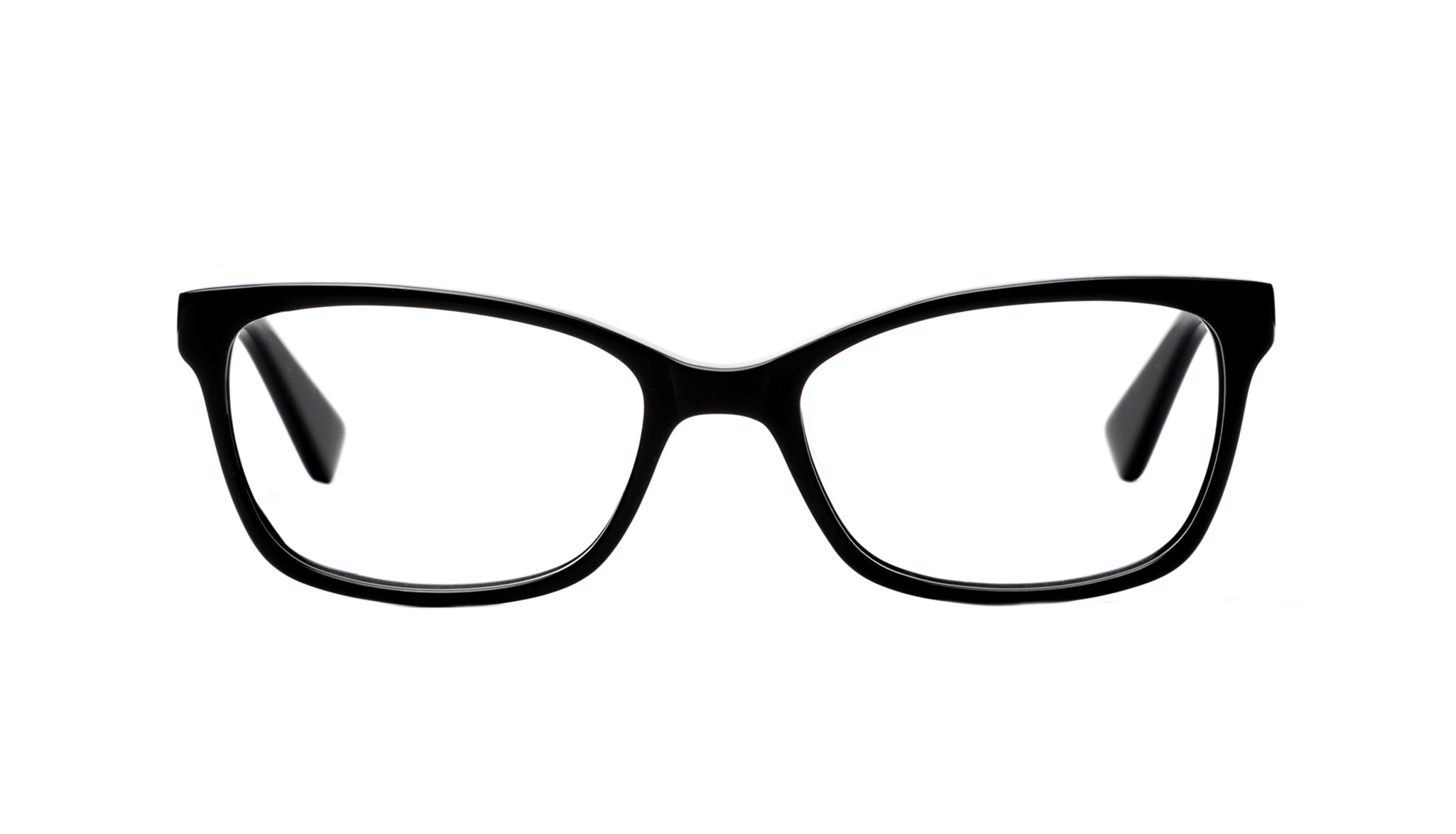 Affordable Fashion Glasses Cat Eye Rectangle Eyeglasses Women Comet Onyx Front