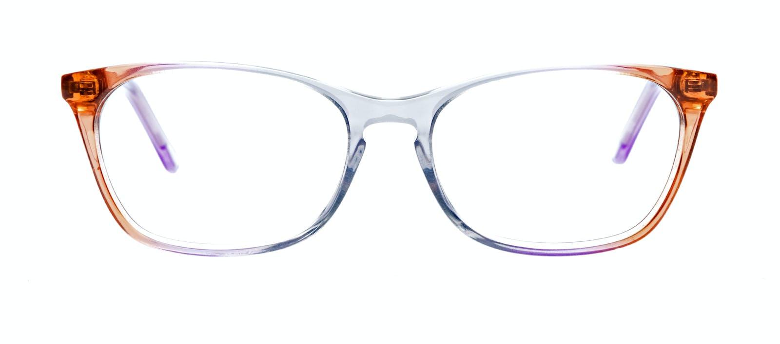 8b57433e1b0 ... Affordable Fashion Glasses Cat Eye Rectangle Eyeglasses Women Grace  Rainbow Haze Front ...
