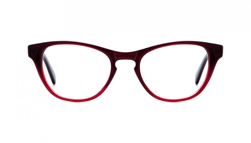 Affordable Fashion Glasses Cat Eye Eyeglasses Women Selfie Grenadine Front