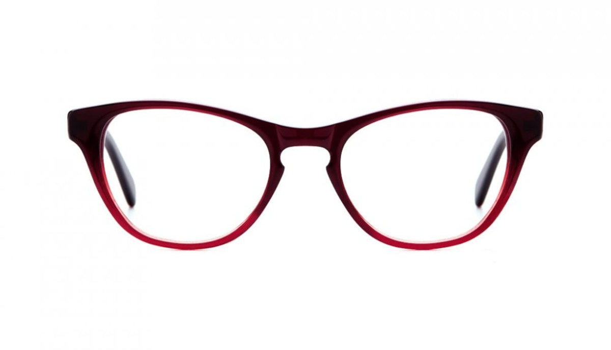 Eyeglasses Frame Zalora : Womens Eyeglasses - Selfie in Grenadine BonLook
