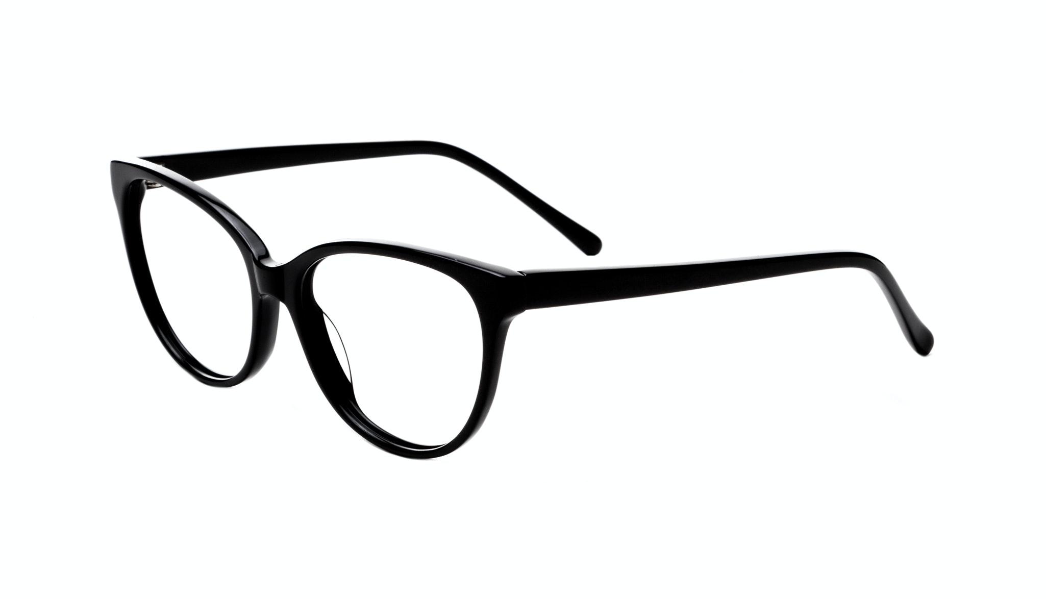 Affordable Fashion Glasses Cat Eye Round Eyeglasses Women Imagine Onyx Tilt