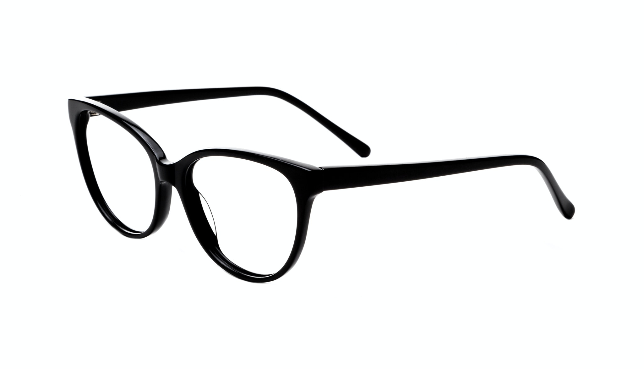 Affordable Fashion Glasses Cat Eye Round Eyeglasses Women Imagine Onyx Tilt