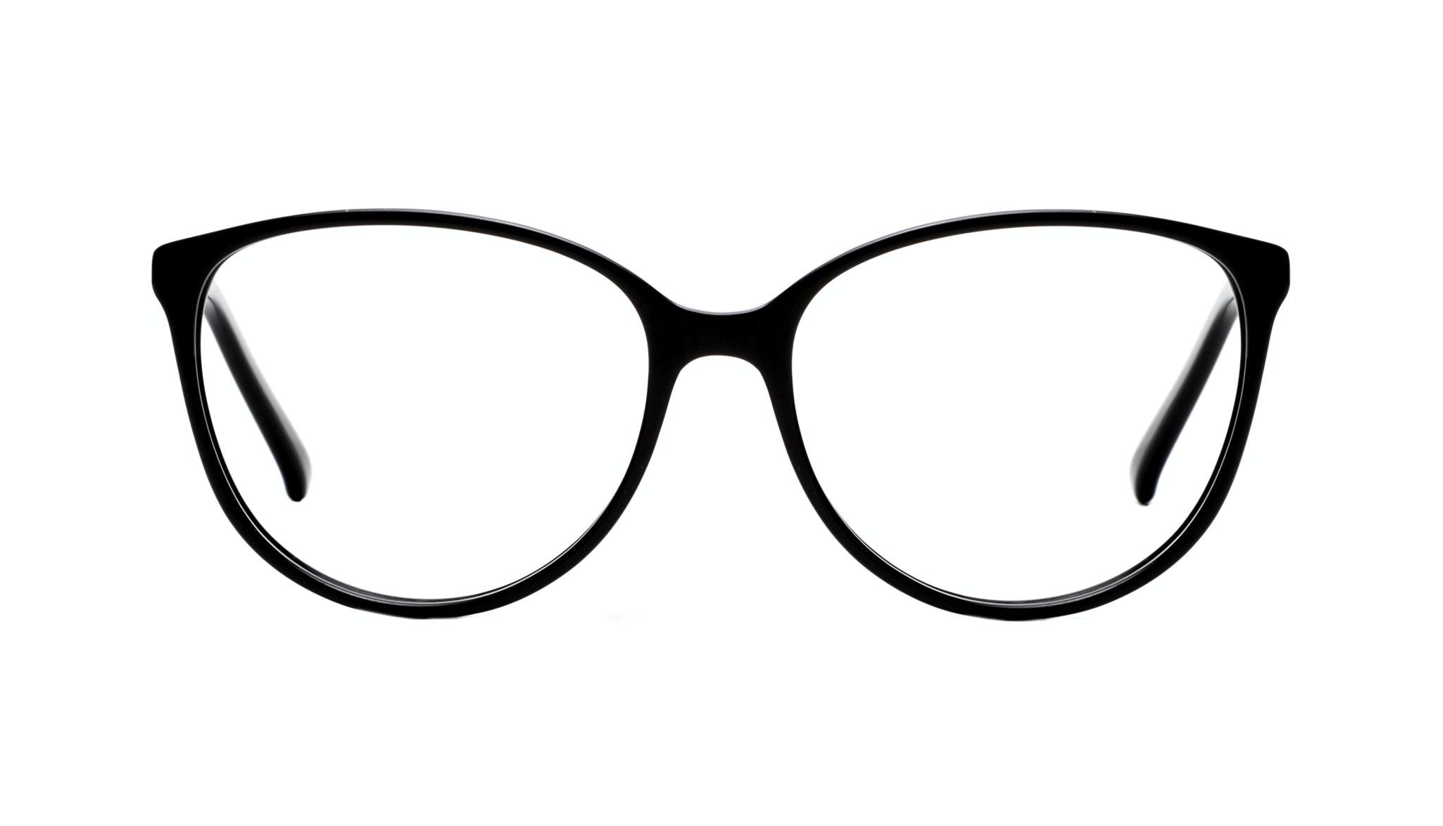 Affordable Fashion Glasses Cat Eye Round Eyeglasses Women Imagine Onyx Front