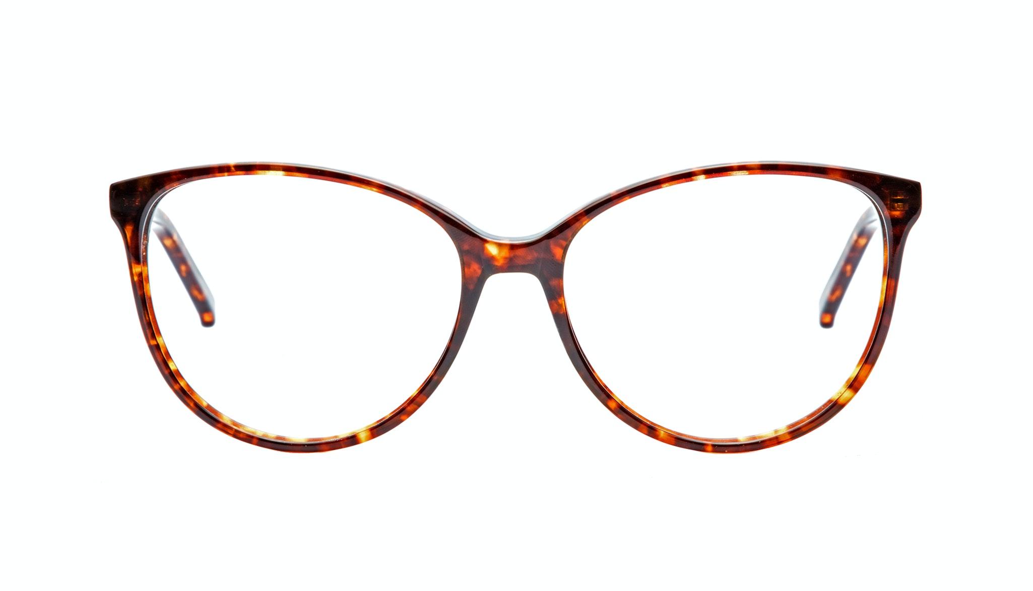 Affordable Fashion Glasses Round Eyeglasses Women Imagine Sepia Kiss Front