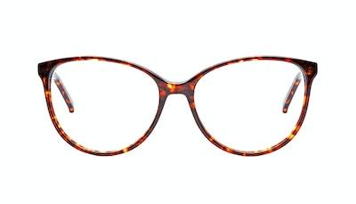 Affordable Fashion Glasses Cat Eye Eyeglasses Women Imagine Sepia Kiss Front