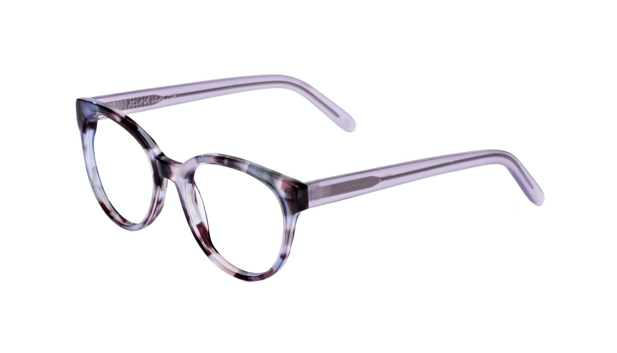 Affordable Fashion Glasses Cat Eye Round Eyeglasses Women Eclipse Lilac Tort Tilt