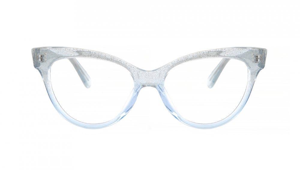 Affordable Fashion Glasses Cat Eye Daring Cateye Eyeglasses Women SkunkBoy Larissa Lake Front