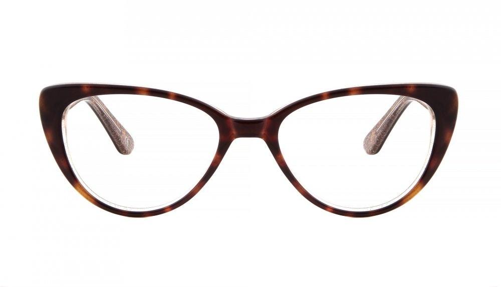 Affordable Fashion Glasses Round Eyeglasses Women Coco Hazel Stardust Front