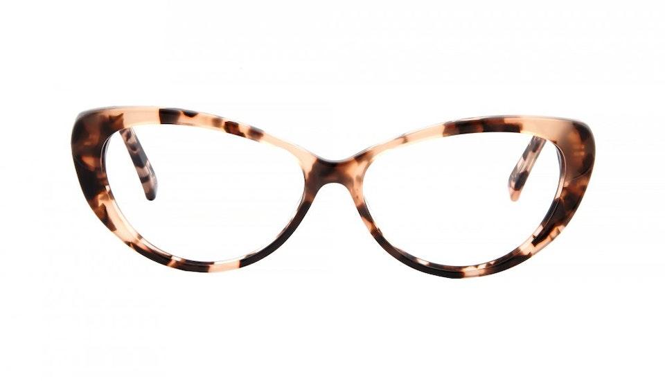 Affordable Fashion Glasses Cat Eye Eyeglasses Women Glamazon Pink Tortoise Front
