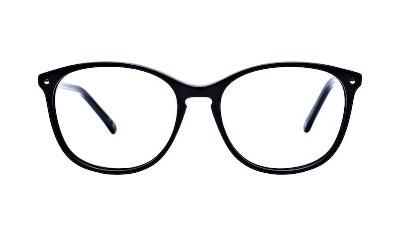 e1b0efb6809 Affordable Fashion Glasses Rectangle Square Round Eyeglasses Women Nadine  Pitch Black