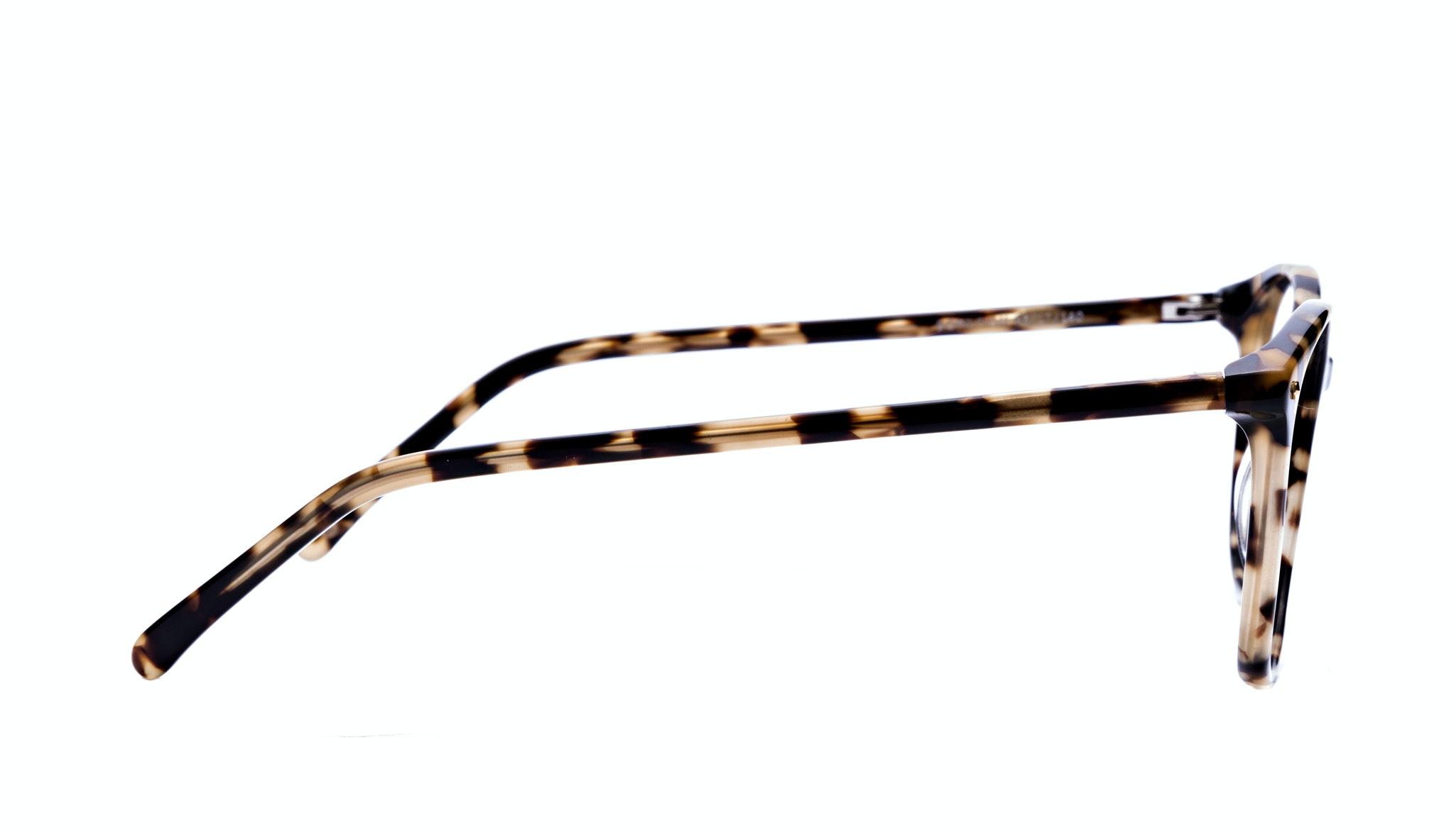 Affordable Fashion Glasses Rectangle Round Eyeglasses Women Nadine Bingal Side