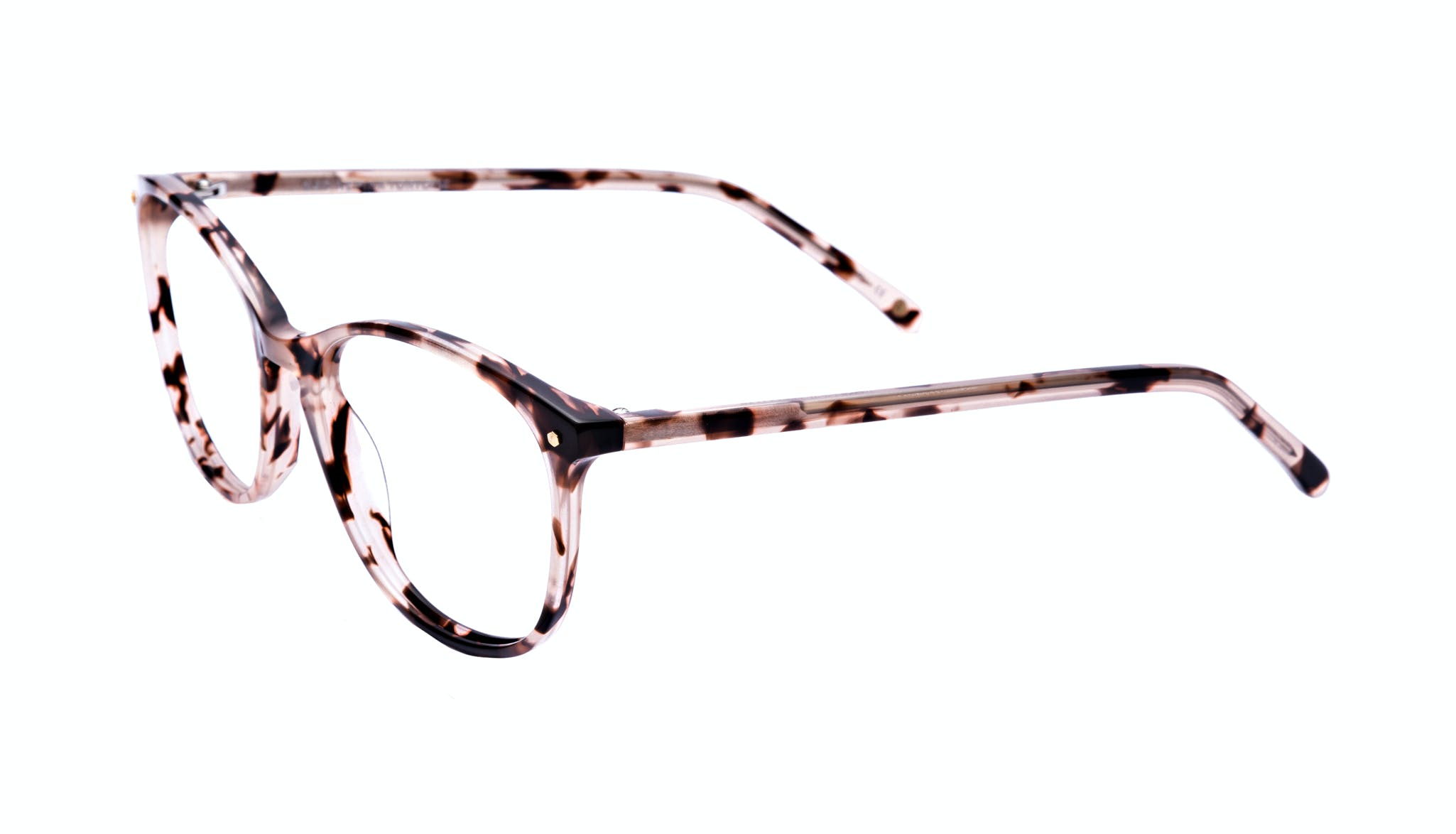 Affordable Fashion Glasses Rectangle Square Round Eyeglasses Women Nadine Pink Tortoise Tilt