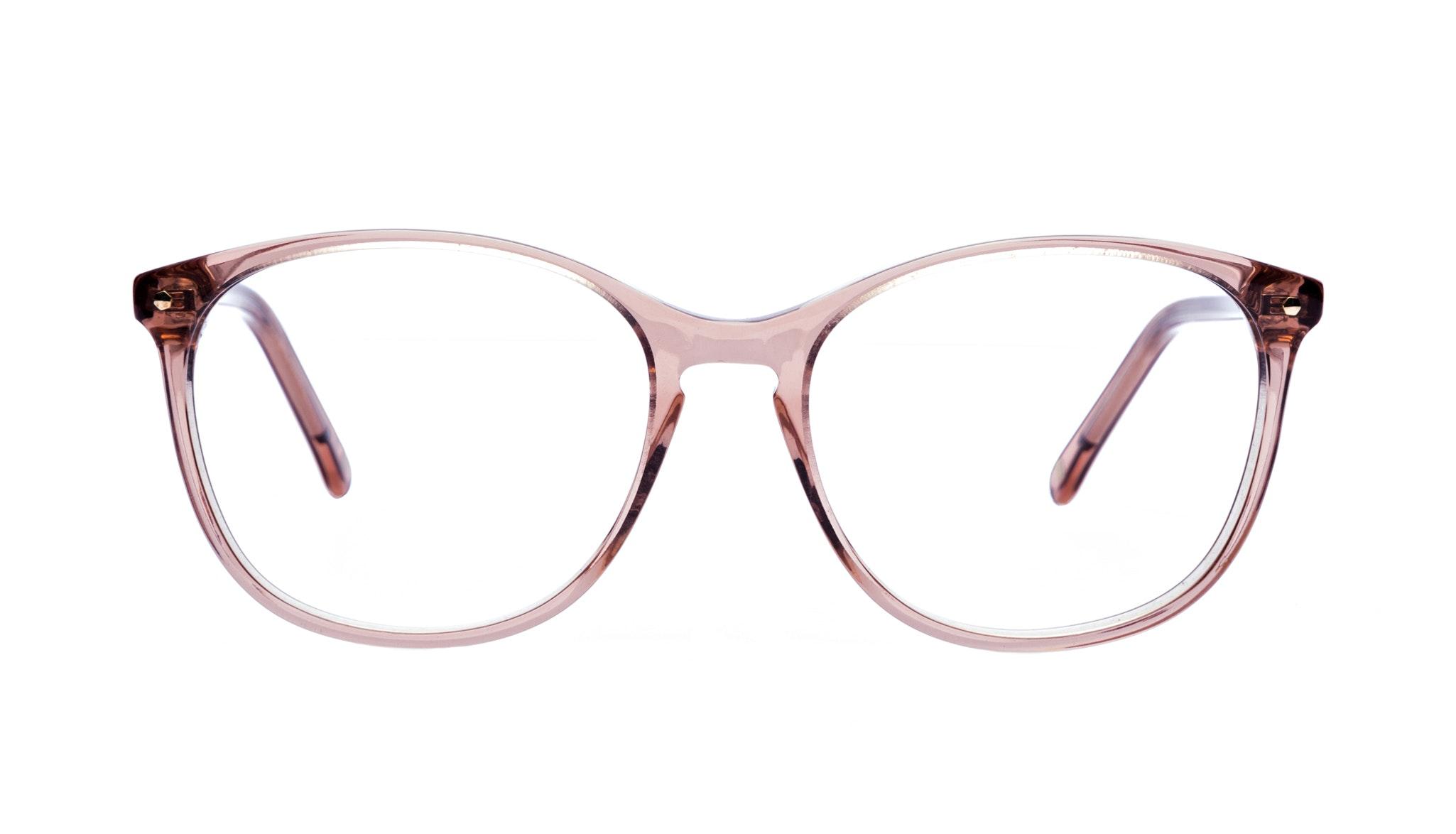 Affordable Fashion Glasses Rectangle Square Round Eyeglasses Women Nadine Rose