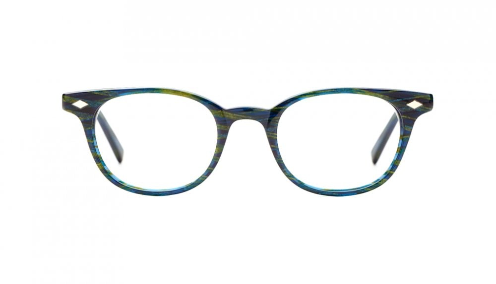 Affordable Fashion Glasses Round Eyeglasses Women Flanagan Pacific Front