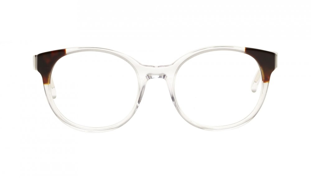 Affordable Fashion Glasses Round Eyeglasses Women Bis Diamond Tortoise Front
