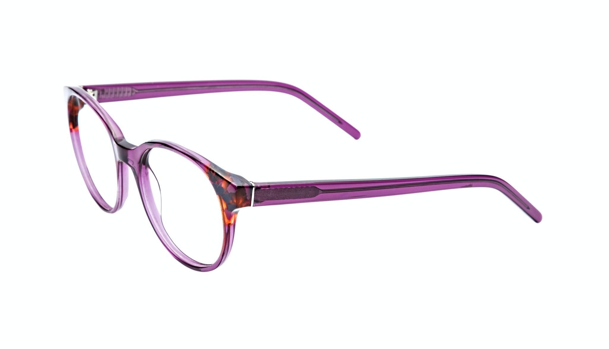 Affordable Fashion Glasses Round Eyeglasses Women Bis Pretty Purple Tilt