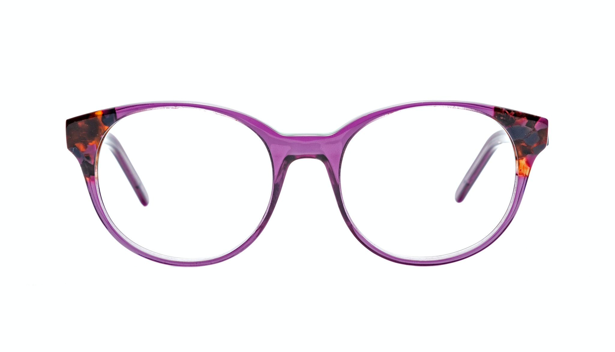 Affordable Fashion Glasses Round Eyeglasses Women Bis Pretty Purple