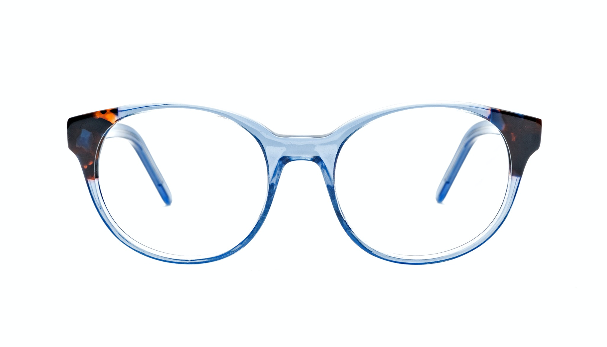 Affordable Fashion Glasses Round Eyeglasses Women Bis Blue Wonder