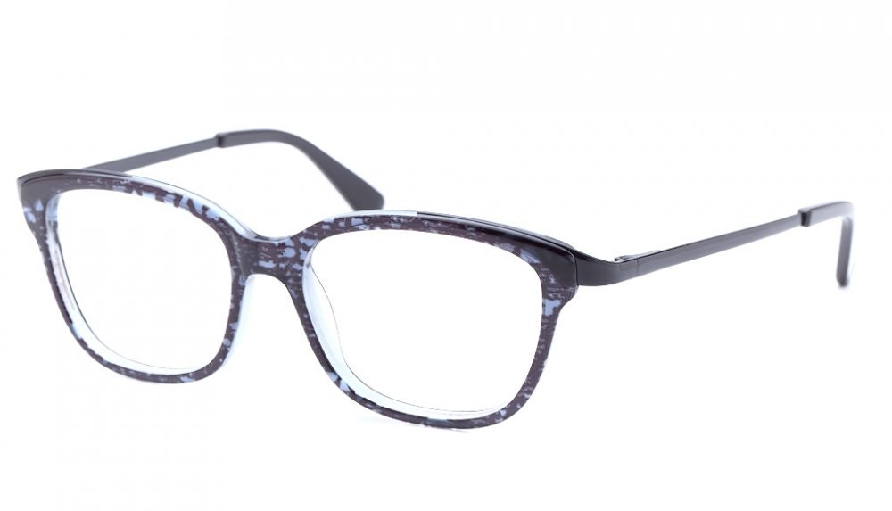 Affordable Fashion Glasses Square Eyeglasses Women Alice Midnight Lace Tilt