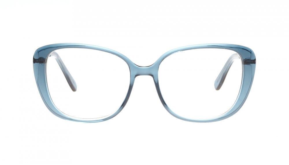 Affordable Fashion Glasses Square Eyeglasses Women Japonisme Buddhist Blue Front