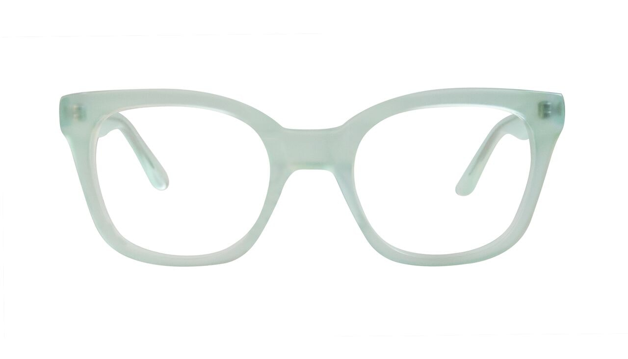 Affordable Fashion Glasses Rectangle Square Eyeglasses Women Jack & Norma Spaceship Front