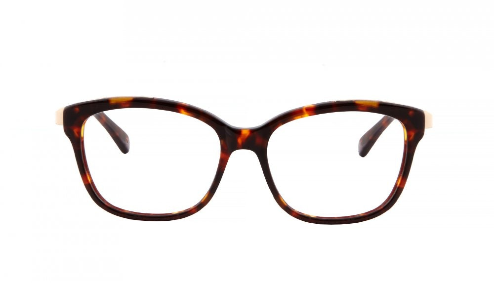 Affordable Fashion Glasses Square Eyeglasses Women Alice Sepia Kiss