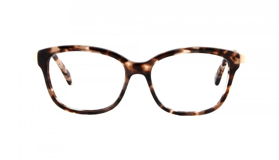 Affordable Fashion Glasses Square Eyeglasses Women Alice Pink Tortoise Front