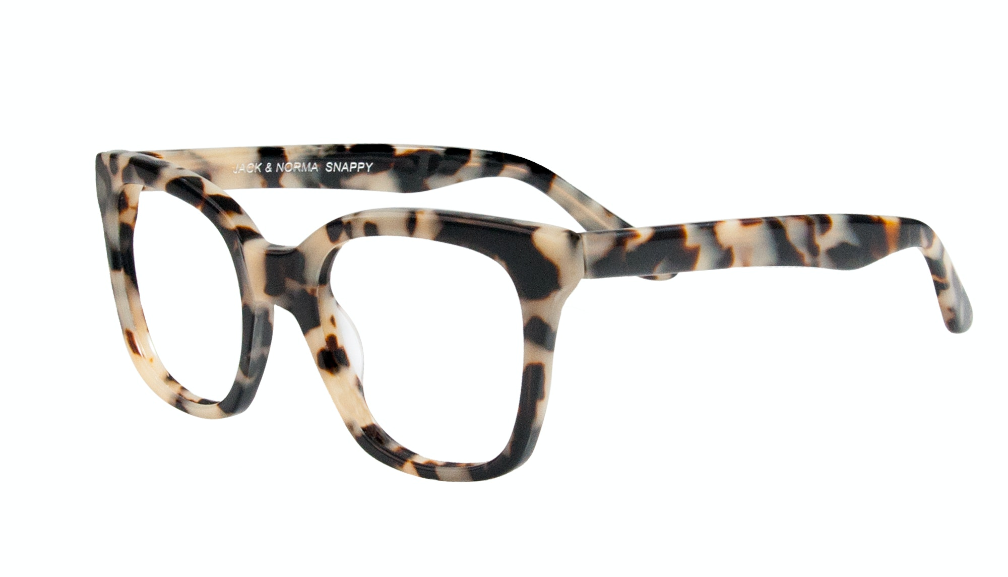 Affordable Fashion Glasses Rectangle Square Eyeglasses Women Jack & Norma Snappy Tilt