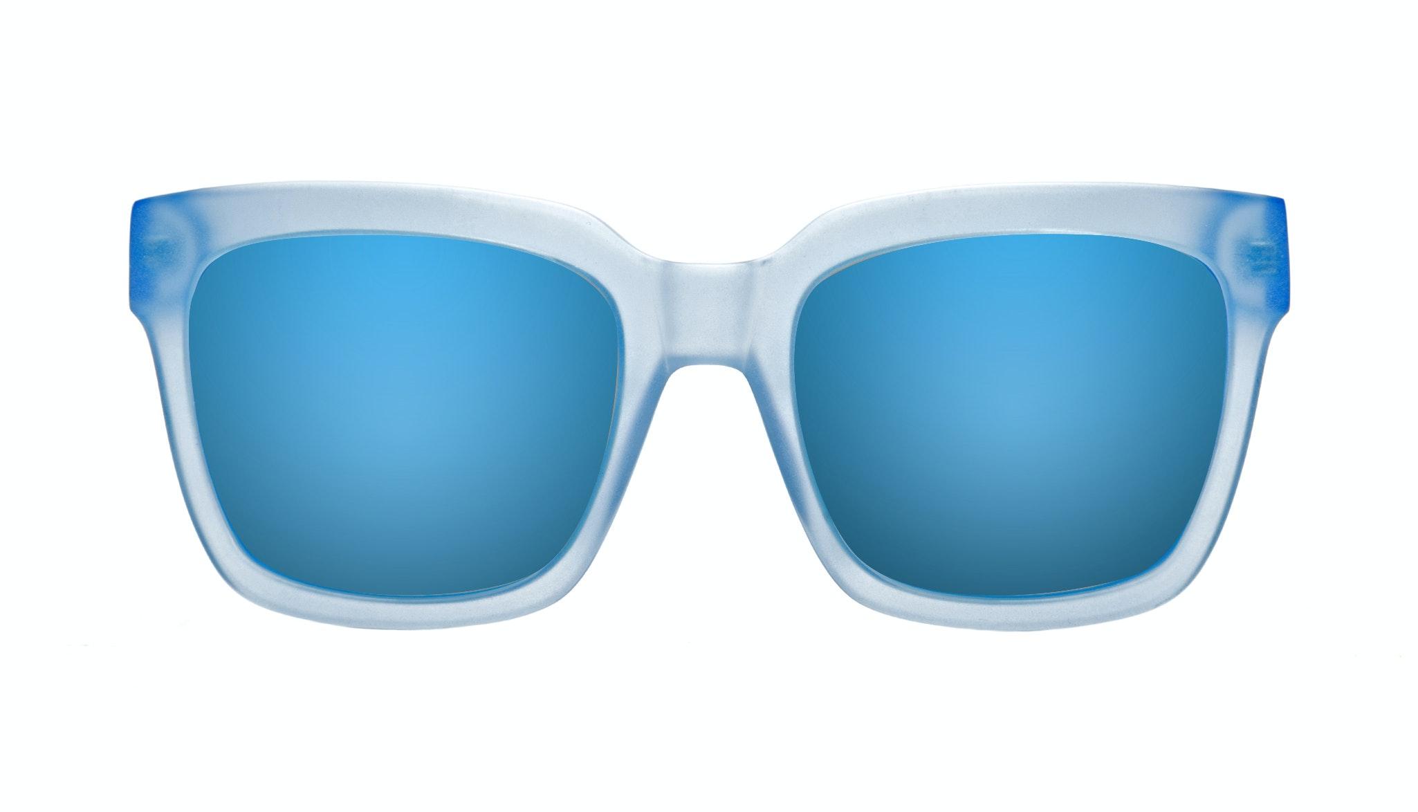 Affordable Fashion Glasses Rectangle Sunglasses Women UpBeat Blue