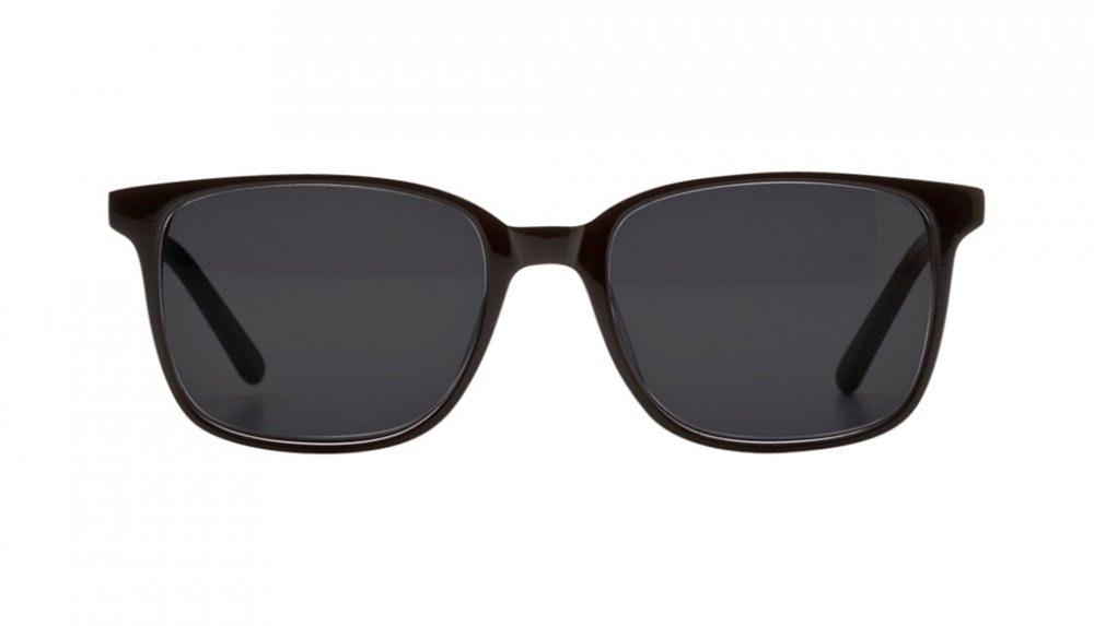 Affordable Fashion Glasses Rectangle Square Sunglasses Women Windsor Black Front
