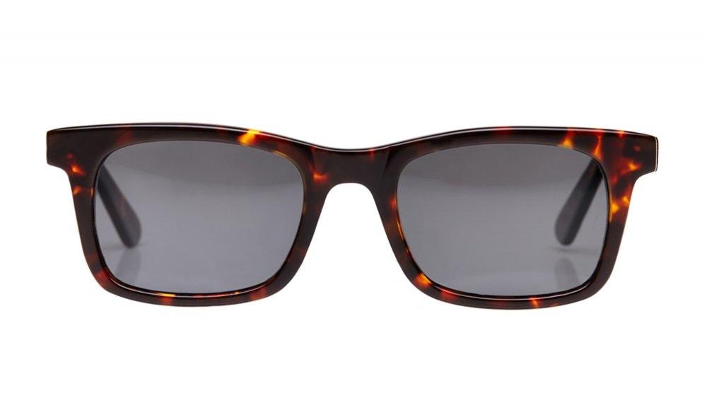Affordable Fashion Glasses Square Sunglasses Men Women Belgo Sepia Kiss