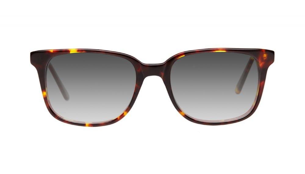 Affordable Fashion Glasses Square Sunglasses Men Women Windsor Sepia Kiss