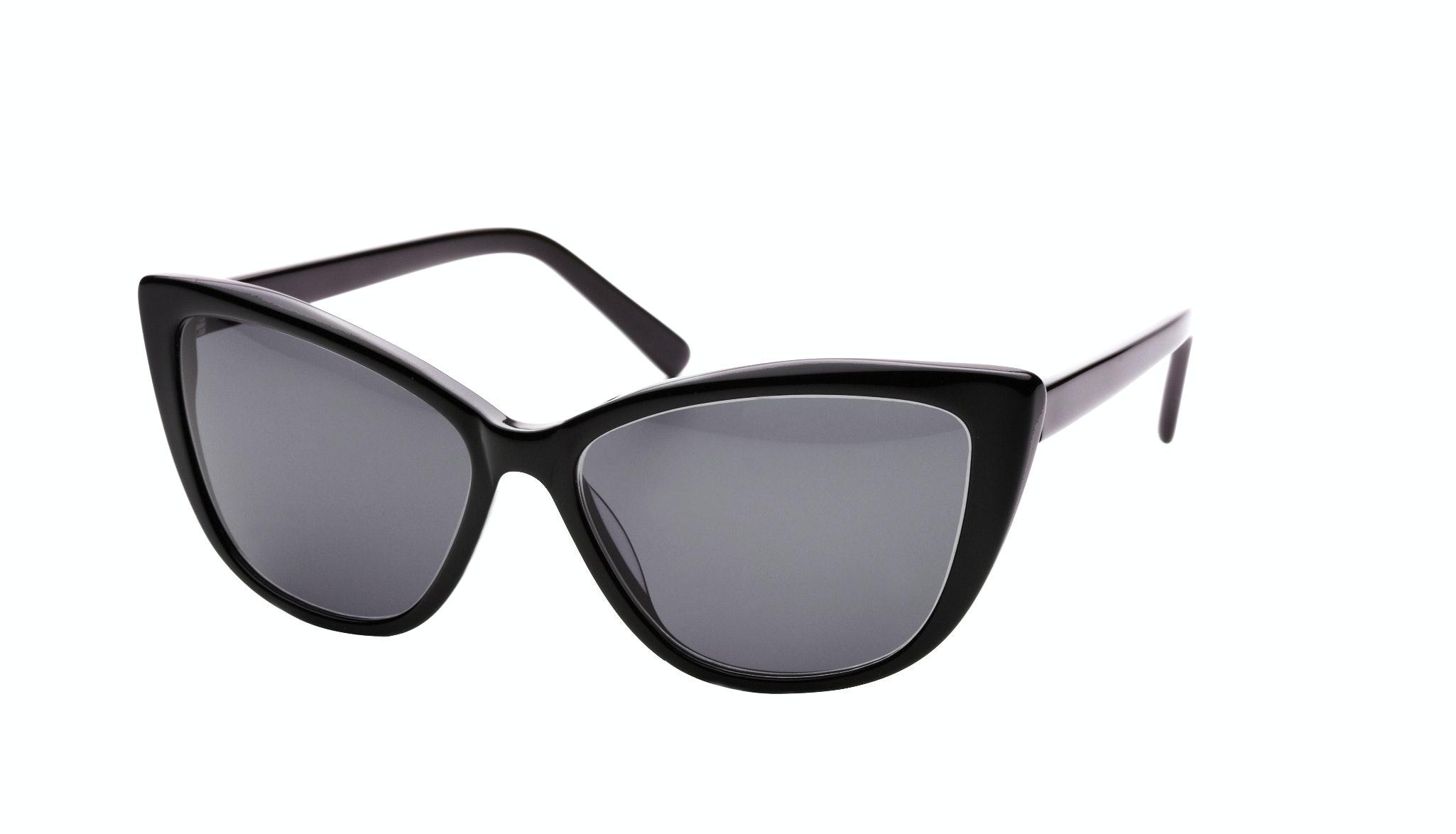 Affordable Fashion Glasses Cat Eye Daring Cateye Sunglasses Women Dolled Up Black Tilt