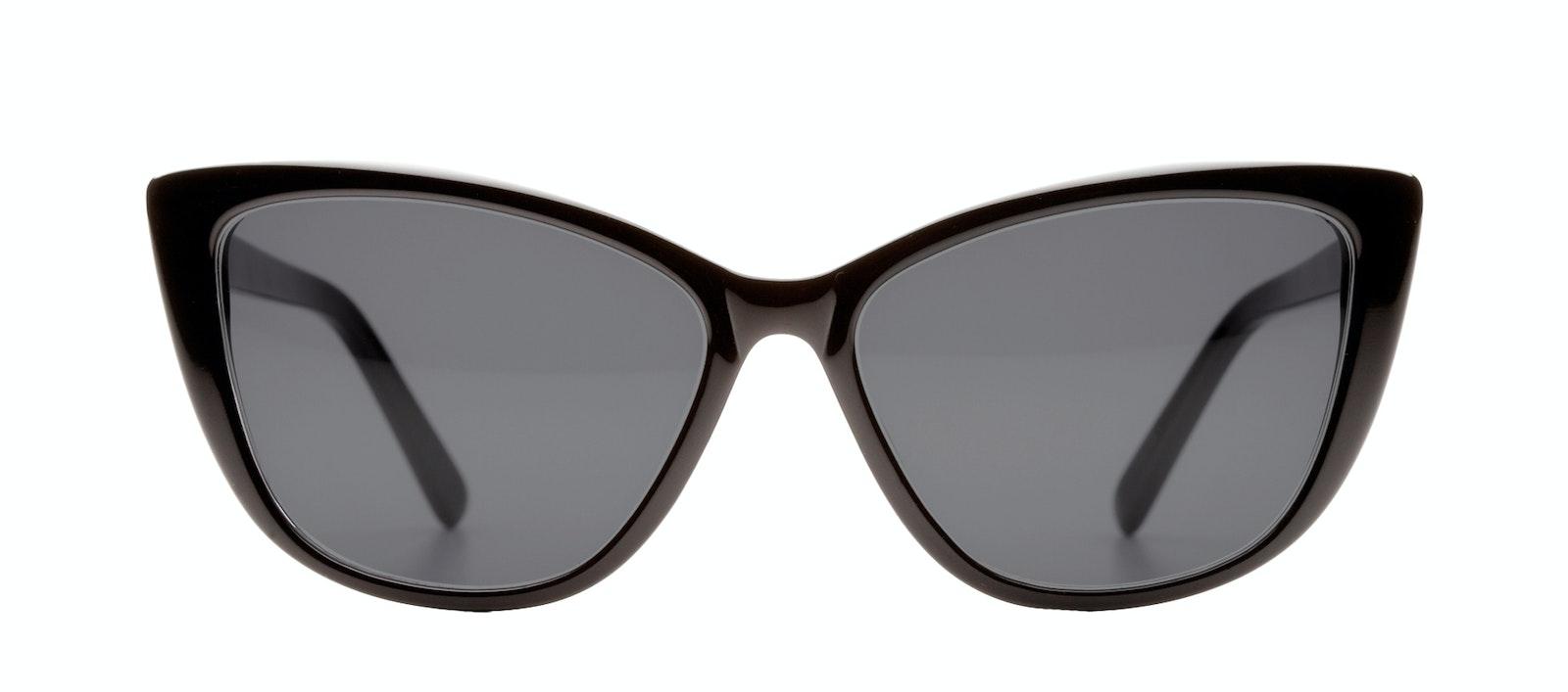 0f4f5da60f38 Affordable Fashion Glasses Cat Eye Daring Cateye Sunglasses Women Dolled Up  Black Front