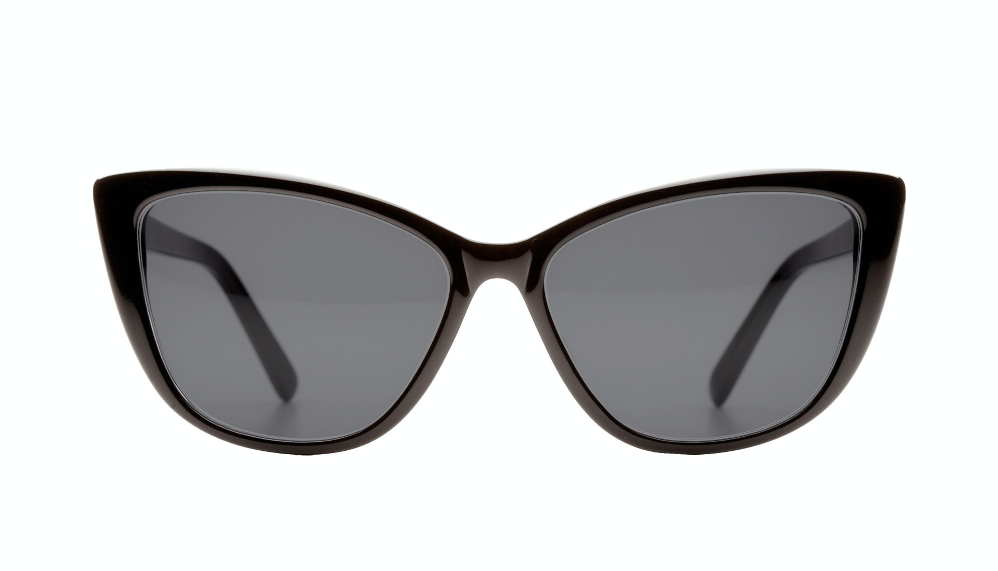 Affordable Fashion Glasses Cat Eye Daring Cateye Sunglasses Women Dolled Up Black Front