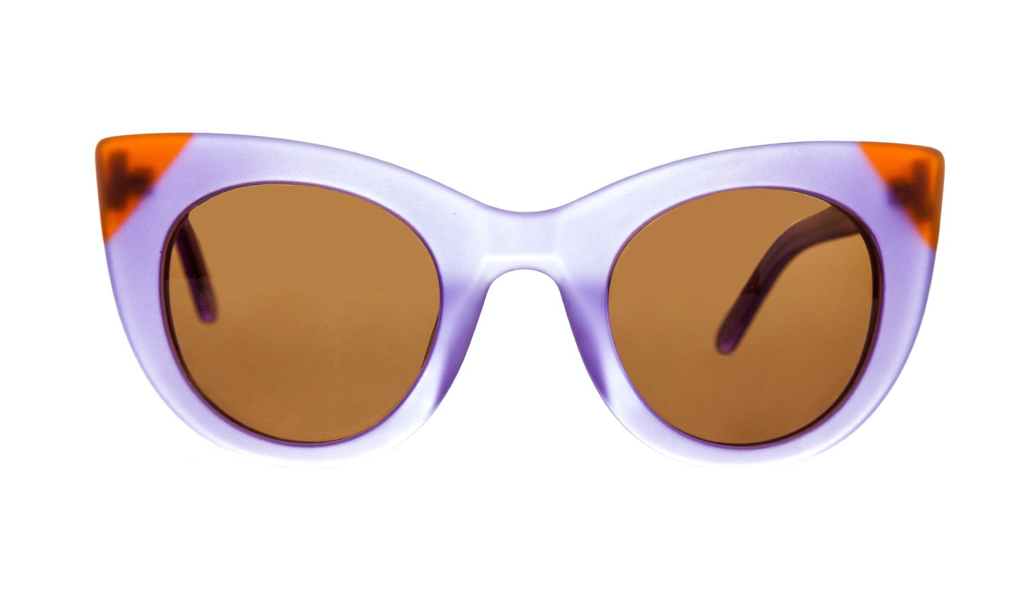 Affordable Fashion Glasses Cat Eye Sunglasses Women Glam Violet Marsala