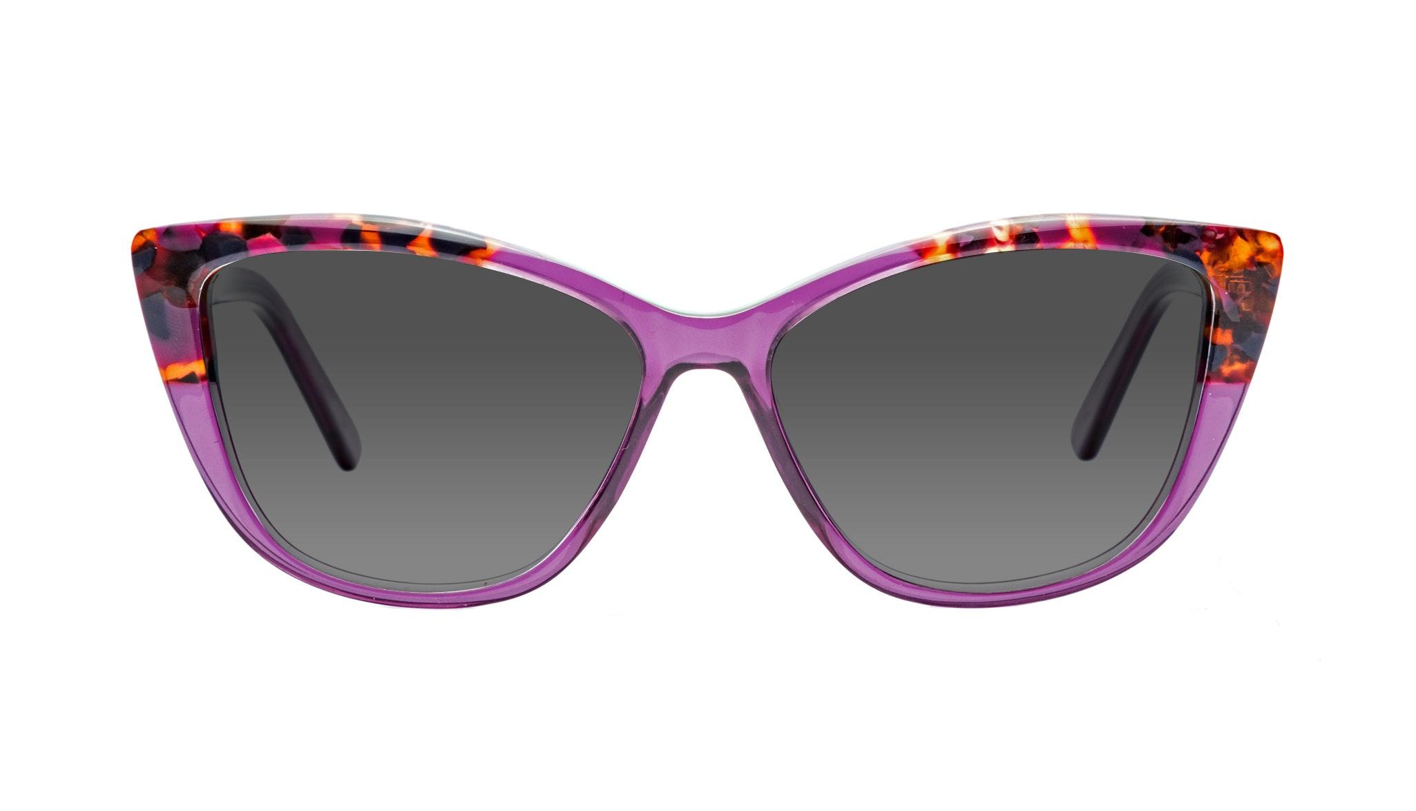 Affordable Fashion Glasses Cat Eye Sunglasses Women Dolled Up Pretty Purple