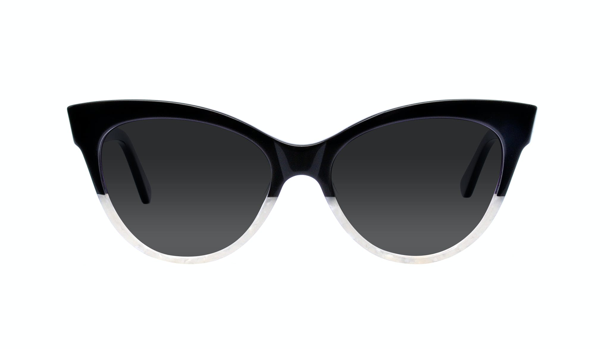 Affordable Fashion Glasses Cat Eye Daring Cateye Sunglasses Women SkunkBoy Panda Pearl Front