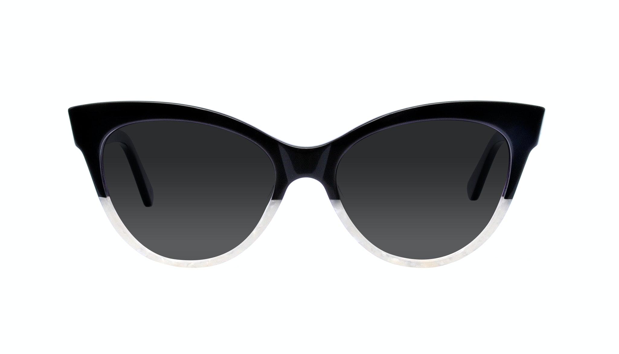 Affordable Fashion Glasses Cat Eye Square Sunglasses Women SkunkBoy Panda Pearl Front