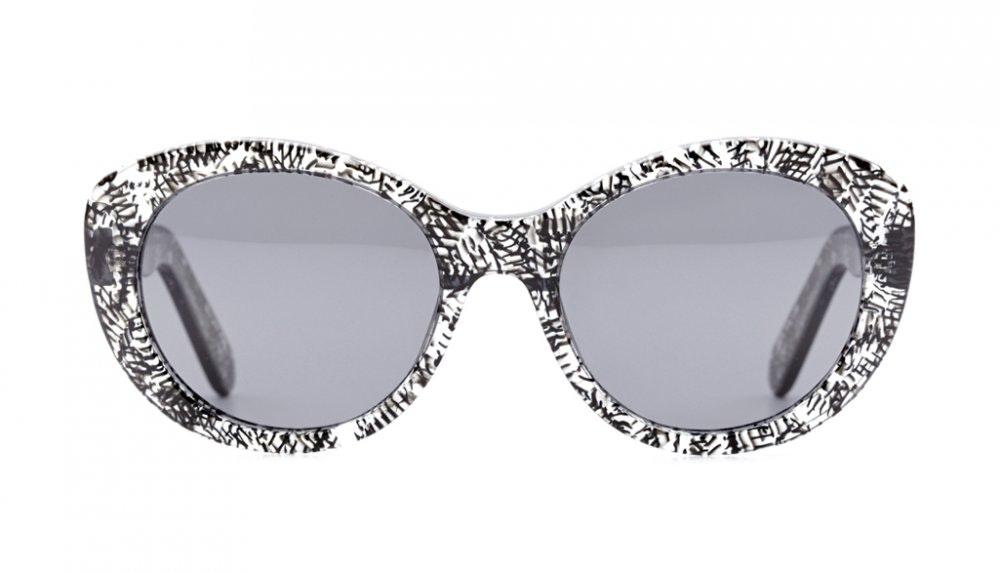 Affordable Fashion Glasses Round Sunglasses Women South Beach Black Reef